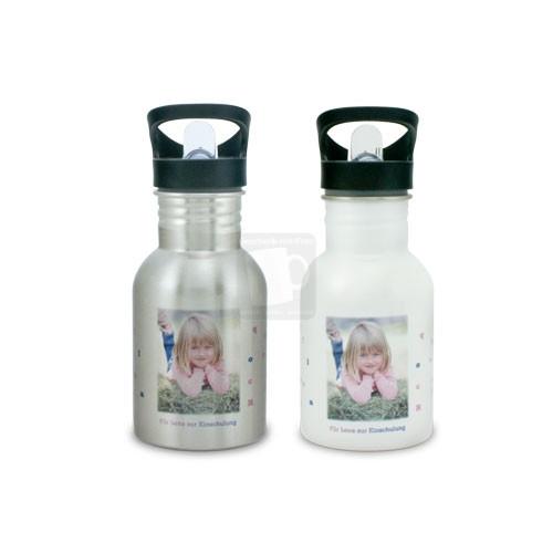 Trinkflasche mit Foto bedrucken