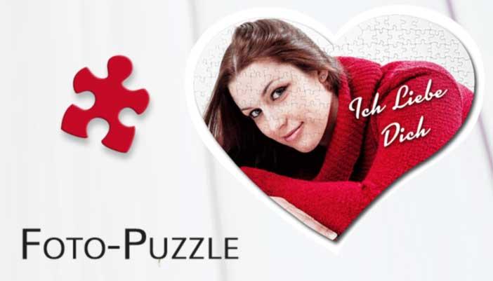 Puzzle mit Foto banner