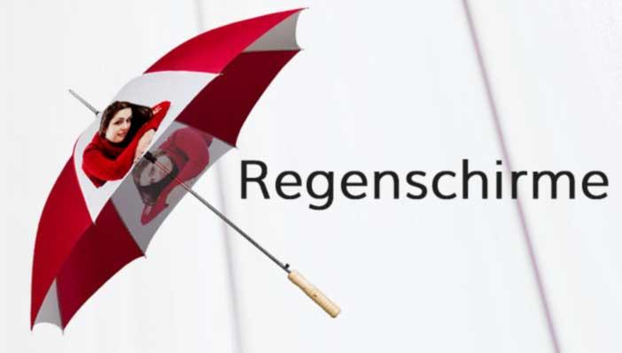 Regenschirm-bedrucken